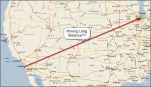 """moving long distance"""