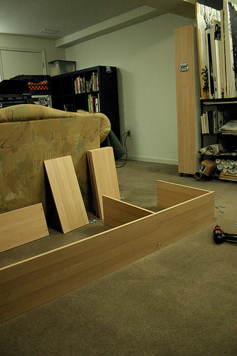 Be a big wheel and make your furniture super simple to - Easy to move couch ...